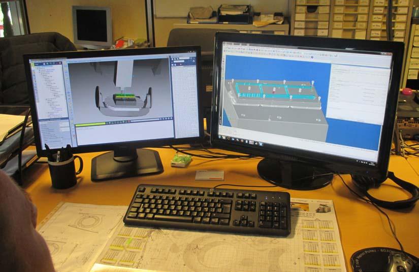 Somepic securisation FAO simulation optimisation vericut