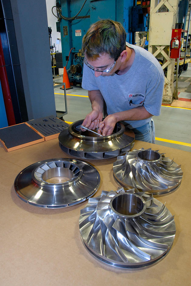 réalisation turbine haute qualité