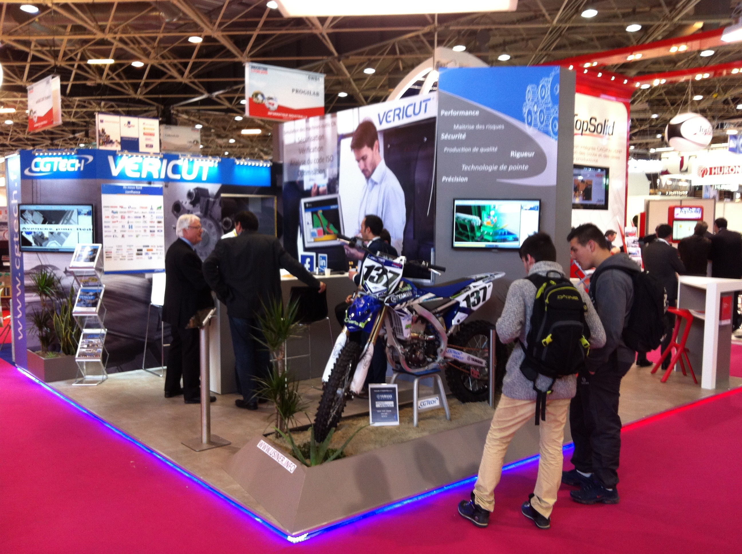 salon industrie paris 2016 cgtech vericut