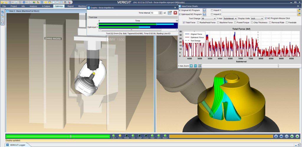 CGTech présentera la version de VERICUT 8.1 à l'EMO