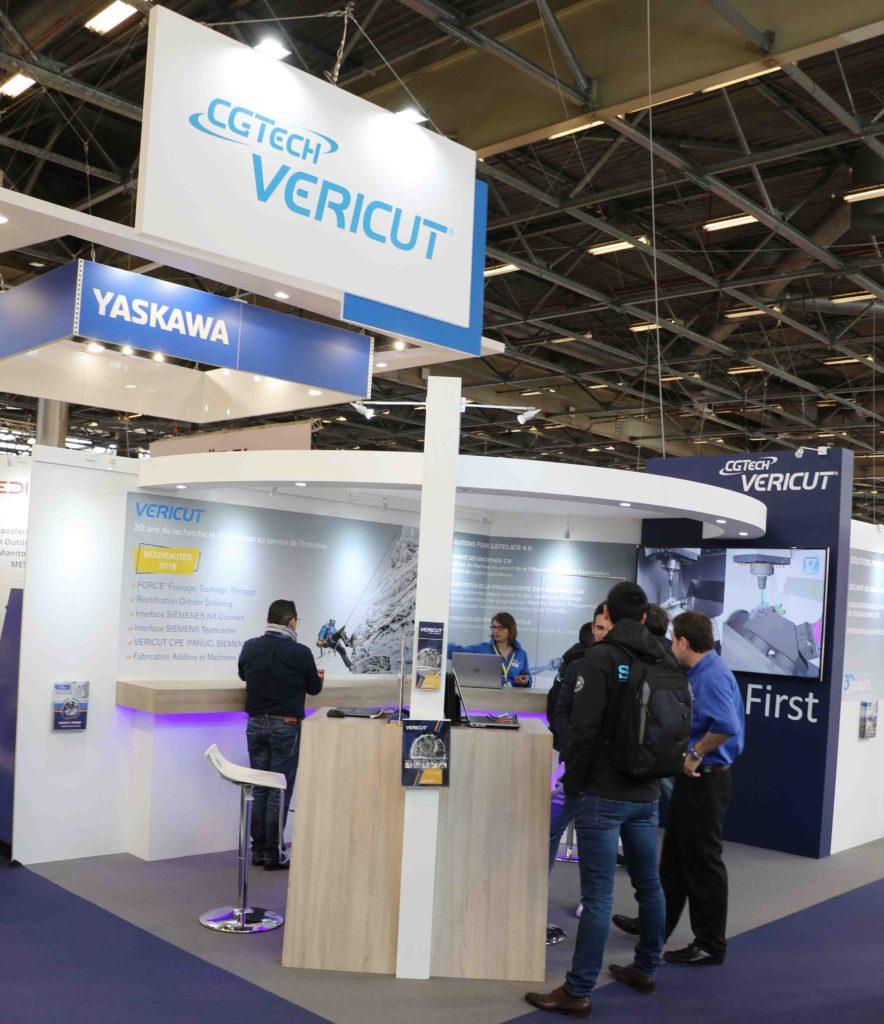 bilan du salon Global Industrie 2018 Paris CGTech VERICUT