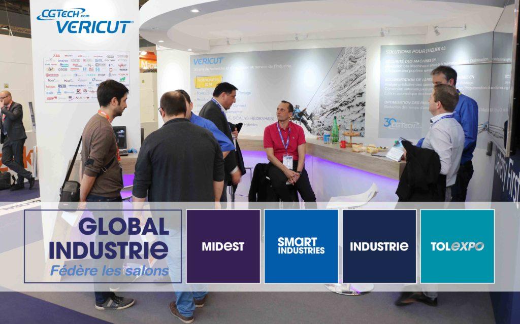 bilan du salon Global Industrie 2018 Paris CGTech VERICUT