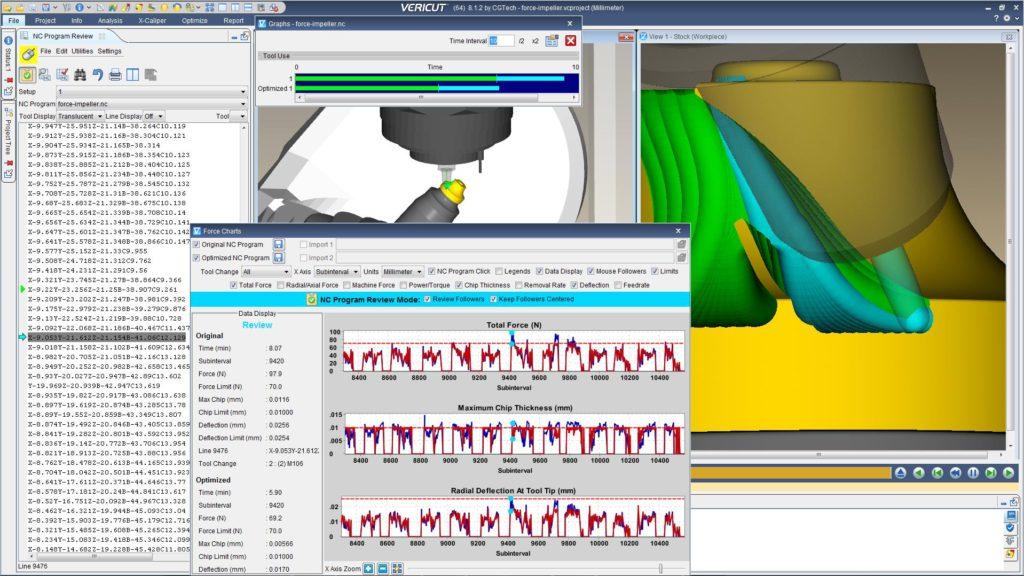module FORCE optimisation usinage