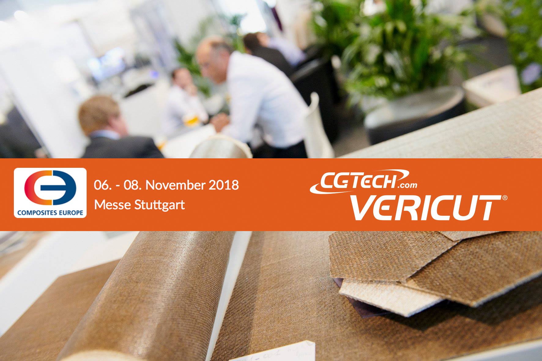 Salon Composites Europe de Stuttgart avec CGTech