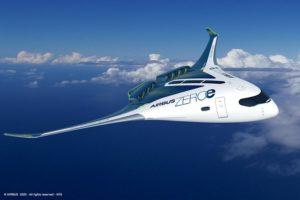 Airbus présentation du projet ZEROe