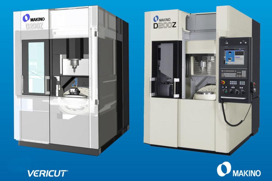 partenariat CGTech VERICUT et les machines outils Makino