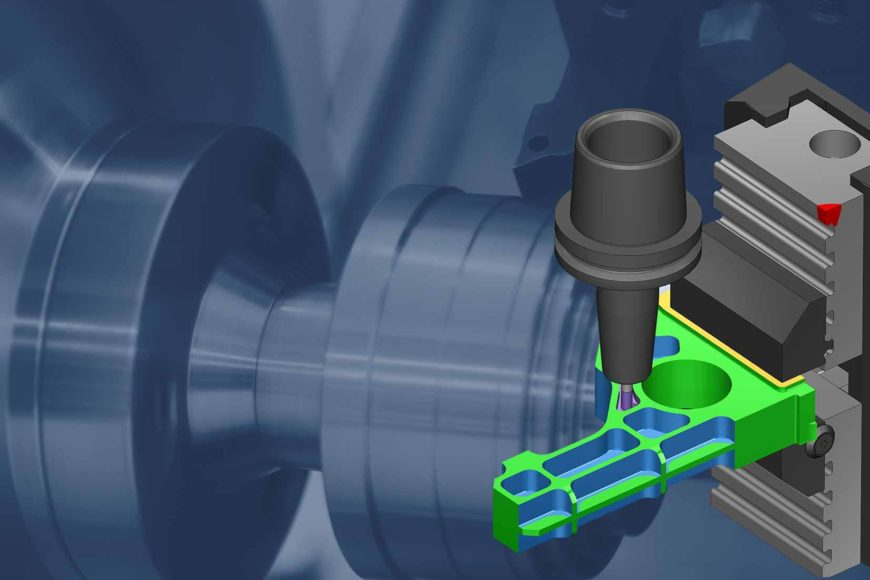 le logiciel vericut simule pour augmenter la productivite des pieces usinees